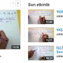 Şenol Hoca Matematik Arşivi