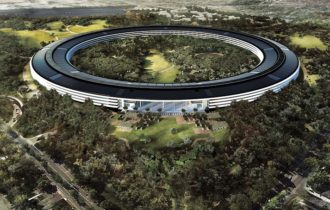 Apple'ın cam evi